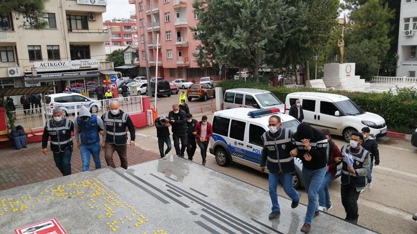 Kozan'da Yasadışı Operasyonuna 7 Tutuklama