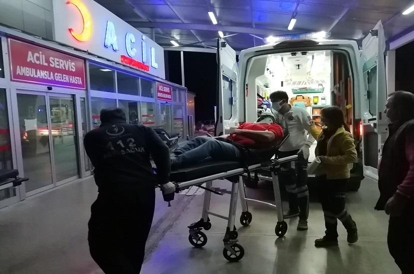 Kozanda Elektrikli Bisiklete Çarpıp Kaçtı 1 Yaralı