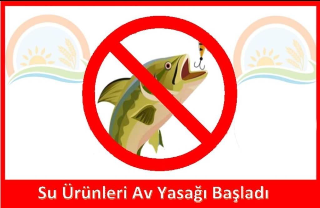 Su Ürünleri Avcılığı Yasaklandı