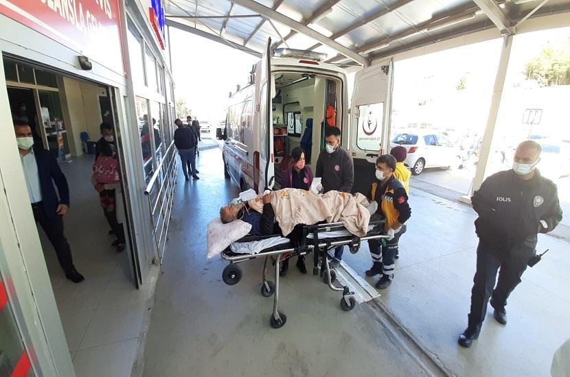 Feke'de Kavgada Kan Aktı, 3 Yaralı