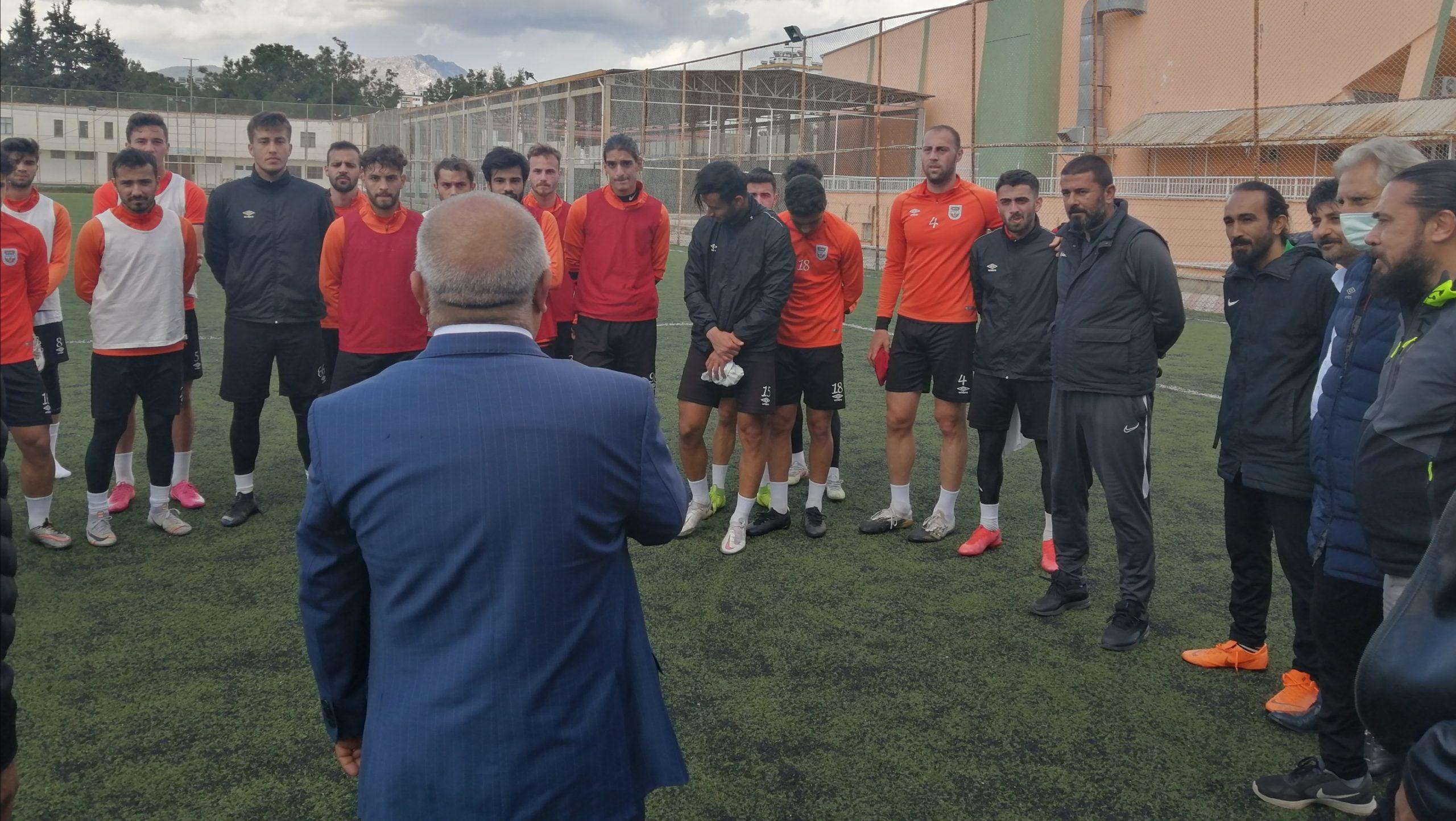 Kozanspor'a Sürpriz Ziyaret