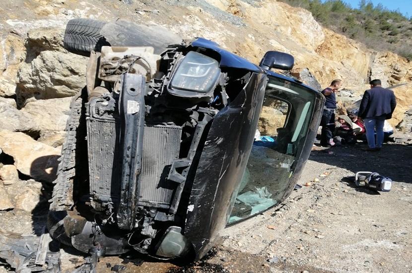 Saimbeyli'de Trafik Kazası 2 Yaralı