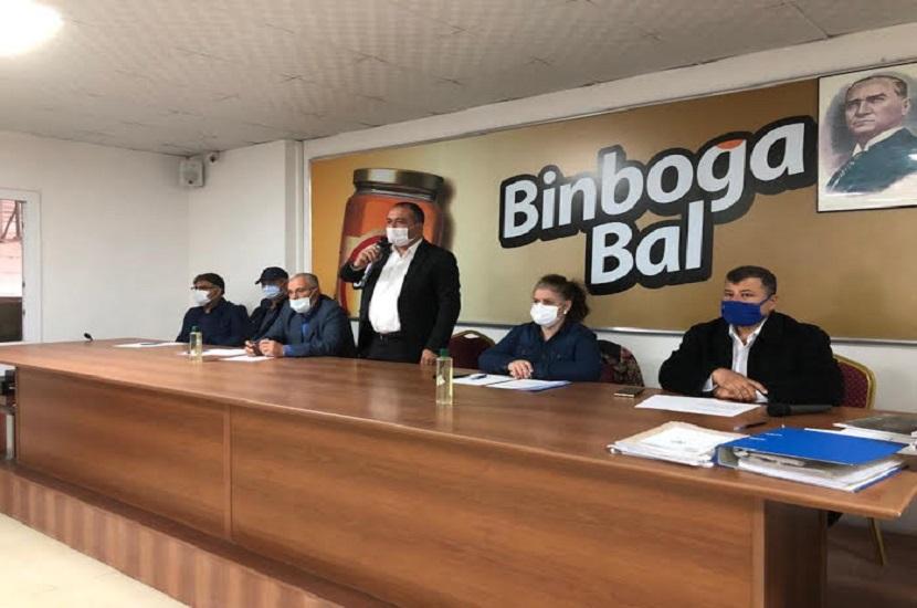 Binboğa Bal Kooperatifinde Mali Genel Kurul Yapıldı