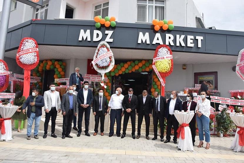 MDZ Marketten Görkemli Açılış