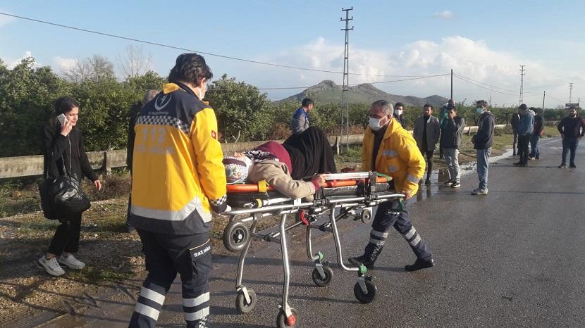 Dünkü Kazada Yaralanan Dudu Batmaz Hayatını Kaybetti