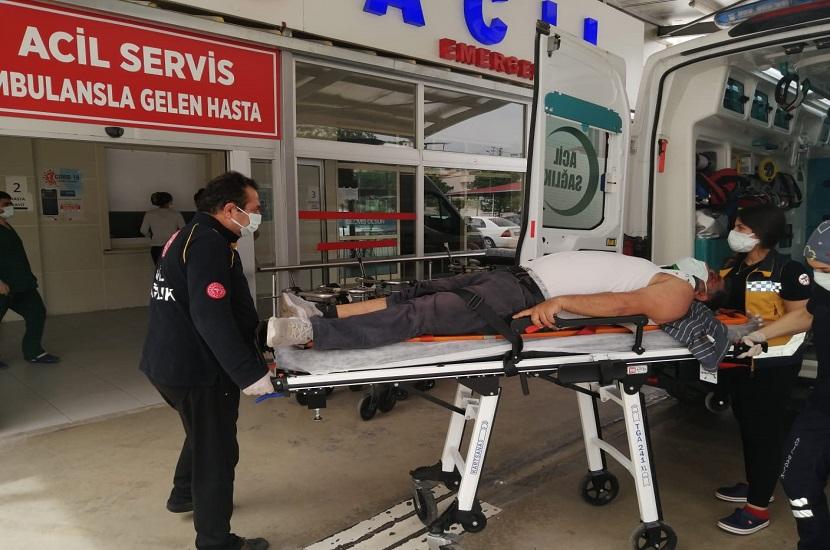 Kozan Adana Yolu Tırmıl Mevki Kaza 1 Yaralı