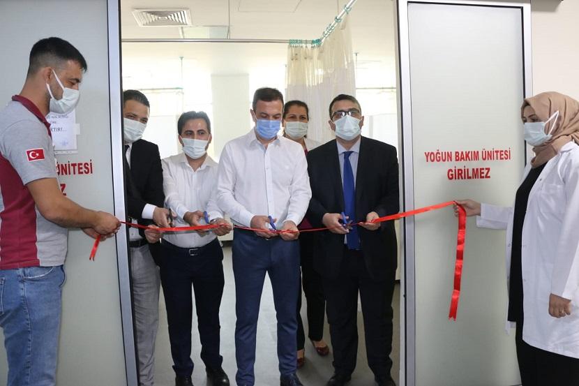Kozan Devlet Hastanesine Yeni Yoğun Bakım Ünitesi