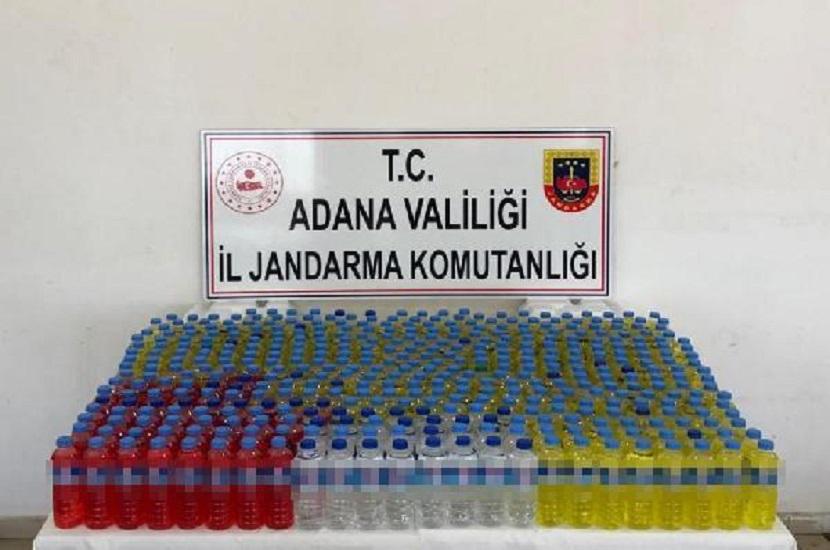 Kozan'a Sokulmaya Çalışılan Sahte İçki Yakalandı