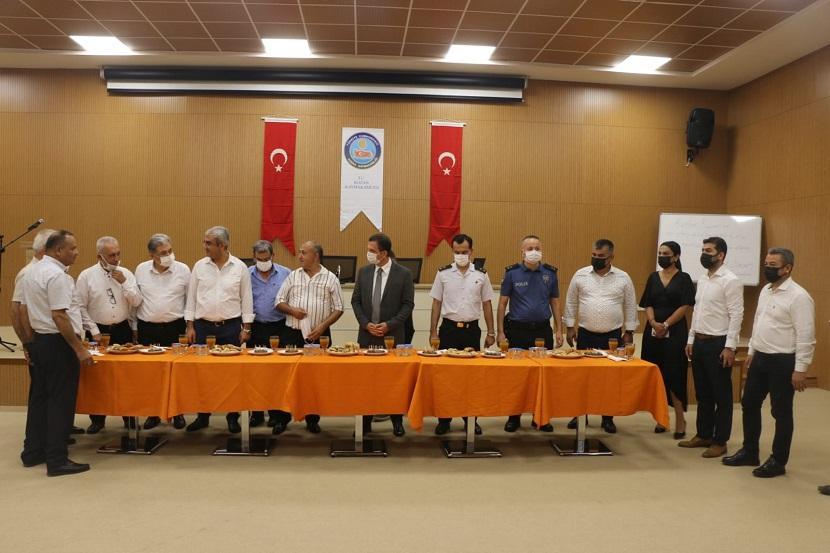 Kozan'da Bayramlaşma Töreni Düzenlendi