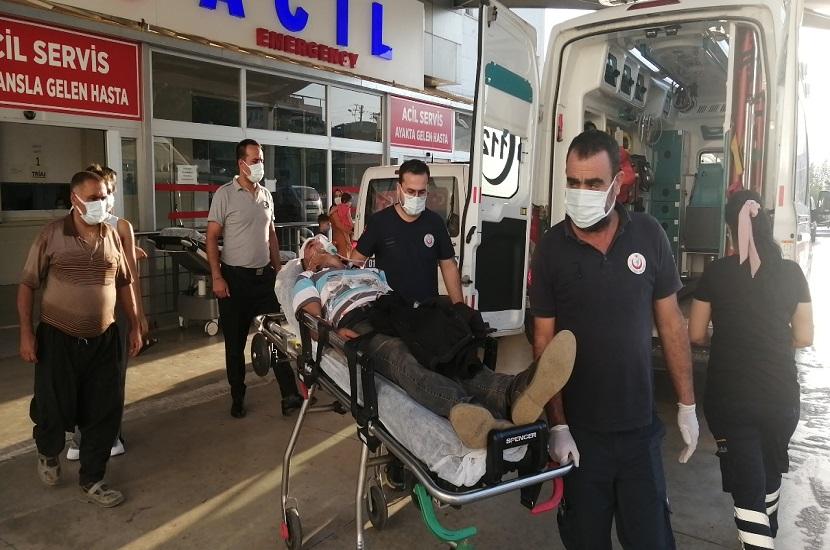 Feke'de Silahlı Kürekli Kavga 1'i Ağır 2 Yaralı