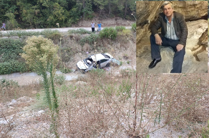 Kozan Gaziköy'den bir Kişi Kadirlide Trafik Kazasında Öldü