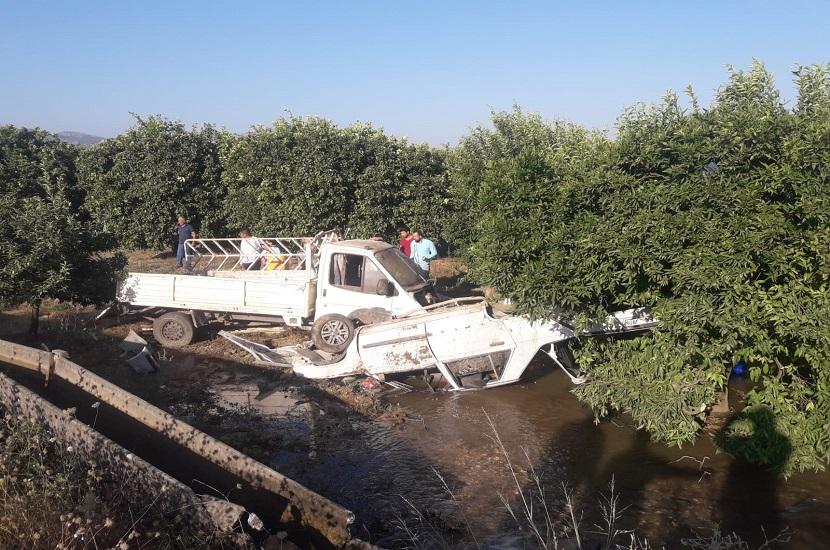 Kozan'da Trafik Kazası 2'si Çocuk 6 Yaralı