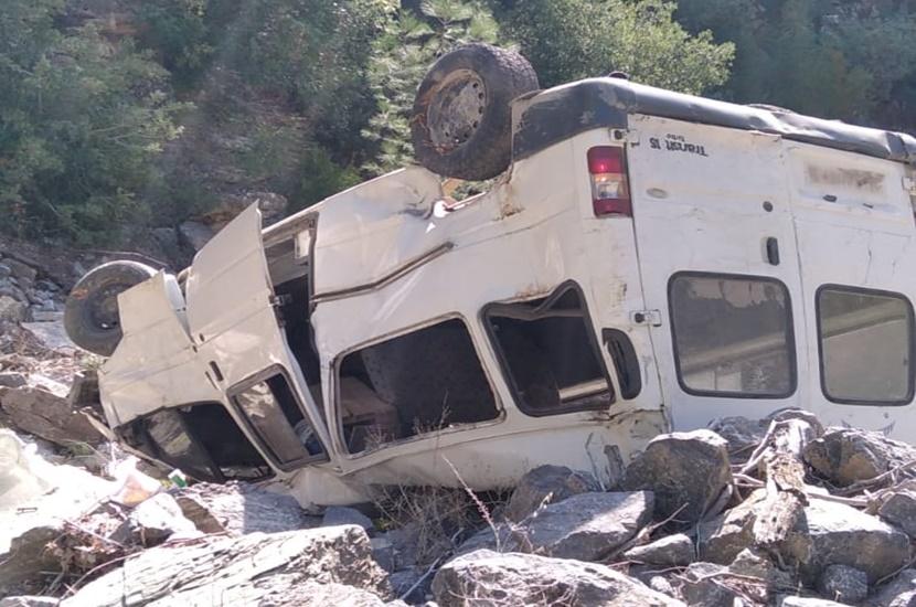 Feke'de Trafik Kazası 1 Kişi Yaralandı