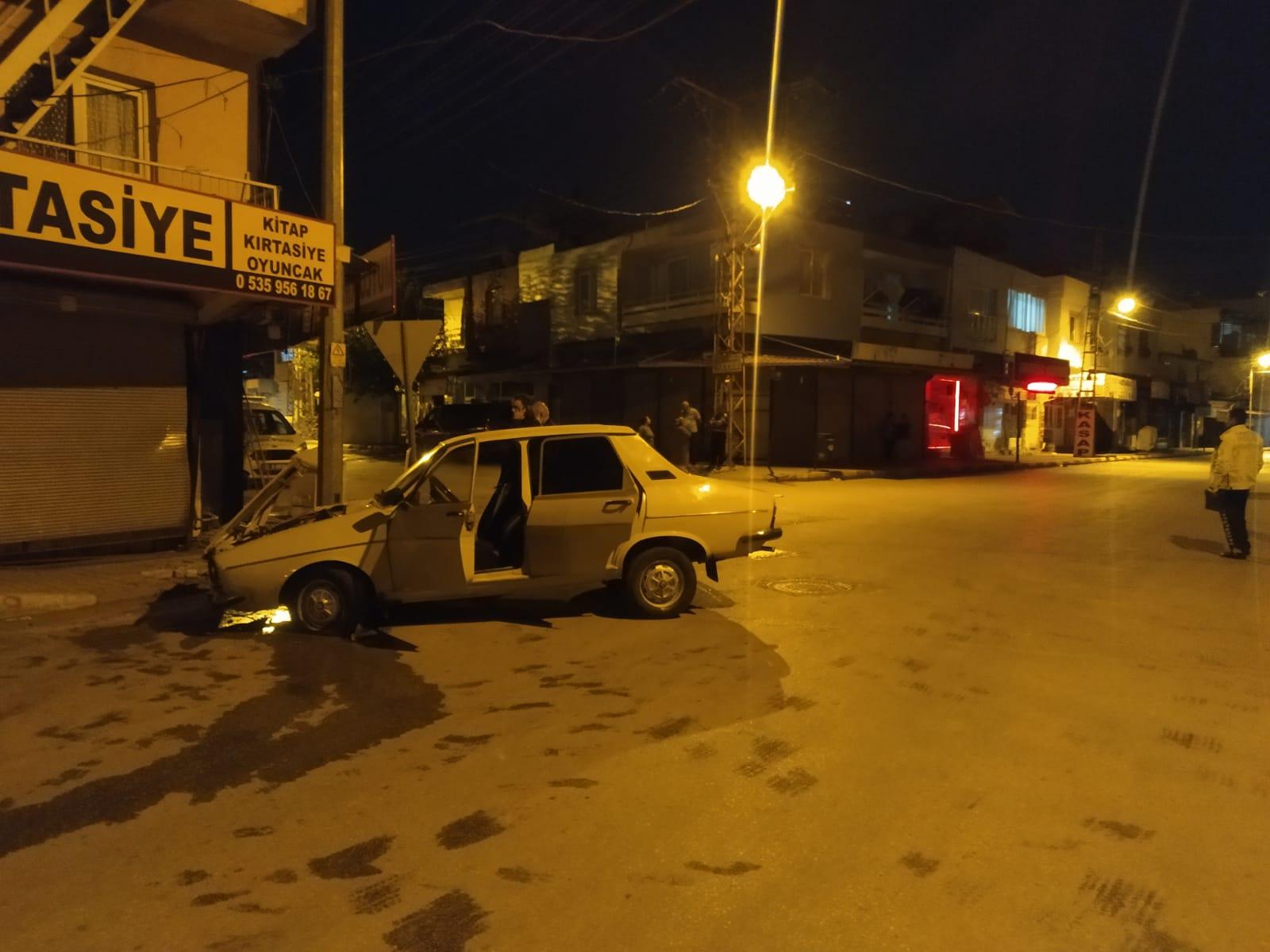 Kozanda Trafik Kazası 2 Ağır Yaralı