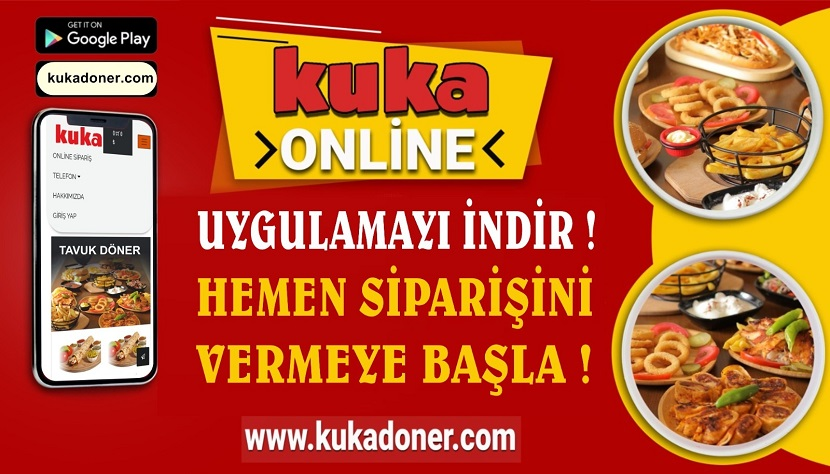 Kozan'ın İlk Yerli Online Restaurantı Hizmete Girdi kukadoner.com Hizmete Girdi